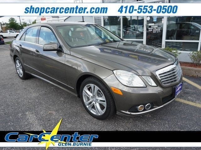 2010 Mercedes Benz E 350 Luxury Prince Frederick Md Annapolis